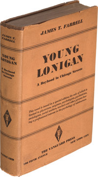 James T. Farrell. Young Lonigan. A Boyhood in Chicago Streets. New York: The Vanguar
