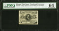 Fractional Currency:Third Issue, Fr. 1239 5¢ Third Issue PMG Choice Uncirculated 64.. ...