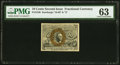 Fractional Currency:Second Issue, Fr. 1246 10¢ Second Issue PMG Choice Uncirculated 63.. ...