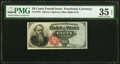 Fractional Currency:Fourth Issue, Fr. 1376 50¢ Fourth Issue Stanton PMG Choice Very Fine 35 EPQ.. ...