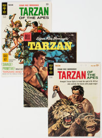 Tarzan-Related Group of 28 (Dell/Gold Key, 1950-69) Condition: Average VG/FN.... (Total: 28 Comic Books)