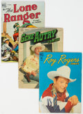 Golden Age (1938-1955):Western, Golden/Silver Age Western Group of 53 (Various, 1940s-60s) Condition: Average FR/GD.... (Total: 53 Comic Books)