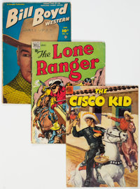 Golden and Silver Age Western Group of 50 (Various Publishers, 1940s-60s) Condition: Average VG+.... (Total: 50 )