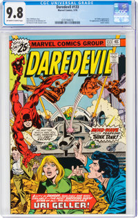 Daredevil #133 (Marvel, 1976) CGC NM/MT 9.8 Off-white to white pages