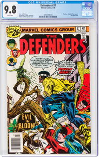 The Defenders #37 (Marvel, 1976) CGC NM/MT 9.8 White pages