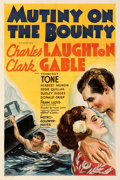 Movie Posters:Academy Award Winners, Mutiny on the Bounty (MGM, 1935). Very Fine on Linen.