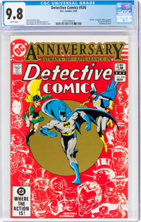 Detective Comics #526 (DC, 1983) CGC NM/MT 9.8 White pages