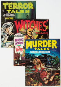 Horror Magazines Group of 42 (Various Publishers, 1970s) Condition: Average VG+.... (Total: 42 Items)