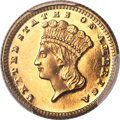 1872 G$1 MS66 Prooflike PCGS. CAC....(PCGS# 783917)