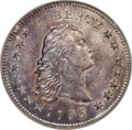 Early Dollars, 1795 $1 Flowing Hair, Two Leaves, B-2, BB-20, R.3, MS62 PCGS....
