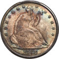 1866 50C Motto, Misplaced Date, WB-102, FS-302, MS66 PCGS. CAC....(PCGS# 413730)