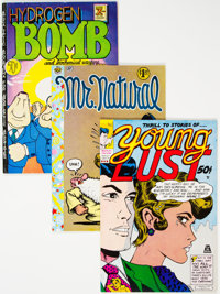 Underground Comics Group of 72(Various Publishers, 1960s-70s) Condition: Average FN/VF.... (Total: 72 )