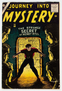 Journey Into Mystery #40 (Atlas, 1956) Condition: VG-