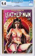 Bronze Age (1970-1979):Alternative/Underground, Tales From the Leather Nun #1 (Last Gasp, 1973) CGC NM 9.4 Off-white to white pages....