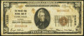 National Bank Notes:Illinois, Chicago, IL - $20 1929 Ty. 1 The Portage Park National Bank Ch. # 12285 Fine.. ...