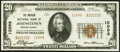 National Bank Notes:Pennsylvania, Johnstown, PA - $20 1929 Ty. 2 The Moxham National Bank Ch. # 12098 About Uncirculated.. ...