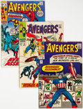 Silver Age (1956-1969):Superhero, The Avengers Group of 44 (Marvel, 1965-71) Condition: Average VG+.... (Total: 44 Comic Books)