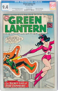 Green Lantern #16 (DC, 1962) CGC NM 9.4 Off-white pages