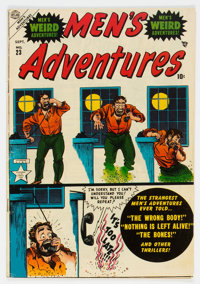 Men's Adventures #23 (Atlas, 1953) Condition: VG+