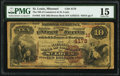 Saint Louis, MO - $10 1882 Brown Back Fr. 484 The National Bank of Commerce Ch. # (M)4178 PMG Choice Fi