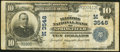National Bank Notes:Illinois, Springfield, IL - $10 1902 Plain Back Fr. 626 The Illinois National Bank Ch. # (M)3548 Fine-Very Fine.. ...