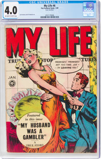 My Life #6 (Fox Features Syndicate, 1949) CGC VG 4.0 Off-white to white pages