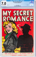 Golden Age (1938-1955):Romance, My Secret Romance #2 (Fox Features Syndicate, 1950) CGC FN/VF 7.0 Off-white to white pages....