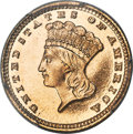 1883 G$1 MS67+ Prooflike PCGS. CAC....(PCGS# 87584)