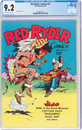 Golden Age (1938-1955):Western, Red Ryder Comics #31 (Dell, 1946) CGC NM- 9.2 Off-white to white pages....