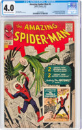 Silver Age (1956-1969):Superhero, The Amazing Spider-Man #2 (Marvel, 1963) CGC VG 4.0 Cream to off-white pages....