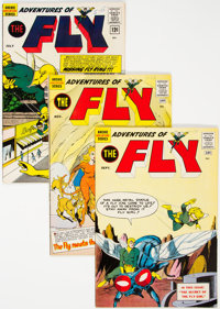 Adventures of the Fly Group of 22 (Archie, 1960-64) Condition: Average FN+.... (Total: 22 Comic Books)
