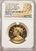 Modern Bullion Coins, 2017-W $100 American Liberty High Relief, First Strike, .9999 Fine, PR70 Ultra Cameo NGC. NGC Census: (793). PCGS Populatio...