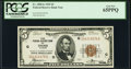 Small Size:Federal Reserve Bank Notes, Fr. 1850-G $5 1929 Federal Reserve Bank Note. PCGS Gem New 65PPQ.. ...