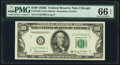 Small Size:Federal Reserve Notes, Fr. 2162-G $100 1950E Federal Reserve Note. PMG Gem Uncirculated 66 EPQ.. ...