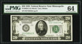 Small Size:Federal Reserve Notes, Fr. 2050-I $20 1928 Federal Reserve Note. PMG Choice Uncirculated 64.. ...