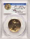 2009 $20 Ultra High Relief Double Eagle, Moy & Mercanti signature MS70 Prooflike PCGS. PCGS Population: (20). NGC Ce...
