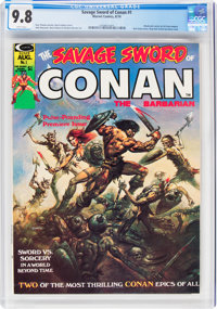 Savage Sword of Conan #1 (Marvel, 1974) CGC NM/MT 9.8 White pages