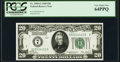 Small Size:Federal Reserve Notes, Fr. 2050-G $20 1928 Federal Reserve Note. PCGS Very Choice New 64PPQ.. ...