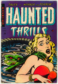 Golden Age (1938-1955):Horror, Haunted Thrills #14 (Farrell, 1954) Condition: FN-....