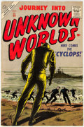 Silver Age (1956-1969):Horror, Journey Into Unknown Worlds #50 (Atlas, 1956) Condition: FN+....