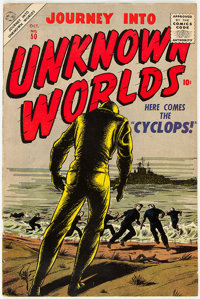 Journey Into Unknown Worlds #50 (Atlas, 1956) Condition: FN+