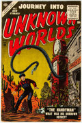 Silver Age (1956-1969):Horror, Journey Into Unknown Worlds #48 (Atlas, 1956) Condition: FN-....