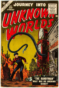 Journey Into Unknown Worlds #48 (Atlas, 1956) Condition: FN-