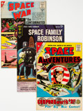 Silver Age (1956-1969):Science Fiction, Silver Age Sci-Fi Group of 5 (Various Publishers, 1960s) Condition: Average FN+.... (Total: 5 Comic Books)