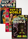 Silver Age (1956-1969):Horror, Out of This World #6, 7, and 10 Group (Charlton, 1957-58) Condition: Average FN.... (Total: 3 Comic Books)