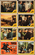 """Movie Posters:Western, Billy the Kid (MGM, 1941). Fine+. Lobby Card Set of 8 (11"""" X 14""""). Western.. ... (Total: 7 Items)"""