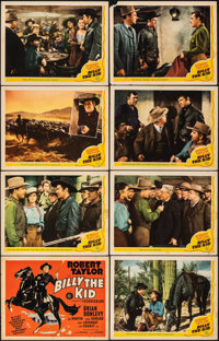 "Billy the Kid (MGM, 1941). Fine+. Lobby Card Set of 8 (11"" X 14""). Western. ... (Total: 7 Items)"