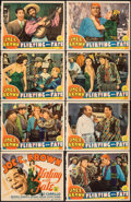 "Movie Posters:Comedy, Flirting with Fate (MGM, 1938). Fine+. Lobby Card Set of 8 (Approx. 11"" X 14""). Comedy.. ... (Total: 8 Items)"