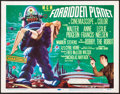 """Movie Posters:Science Fiction, Forbidden Planet (MGM, 1956). Very Fine. Title Lobby Card (11"""" X 14""""). Science Fiction.. ..."""