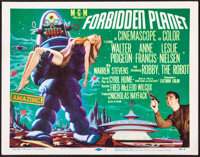 """Forbidden Planet (MGM, 1956). Very Fine. Title Lobby Card (11"""" X 14""""). Science Fiction"""